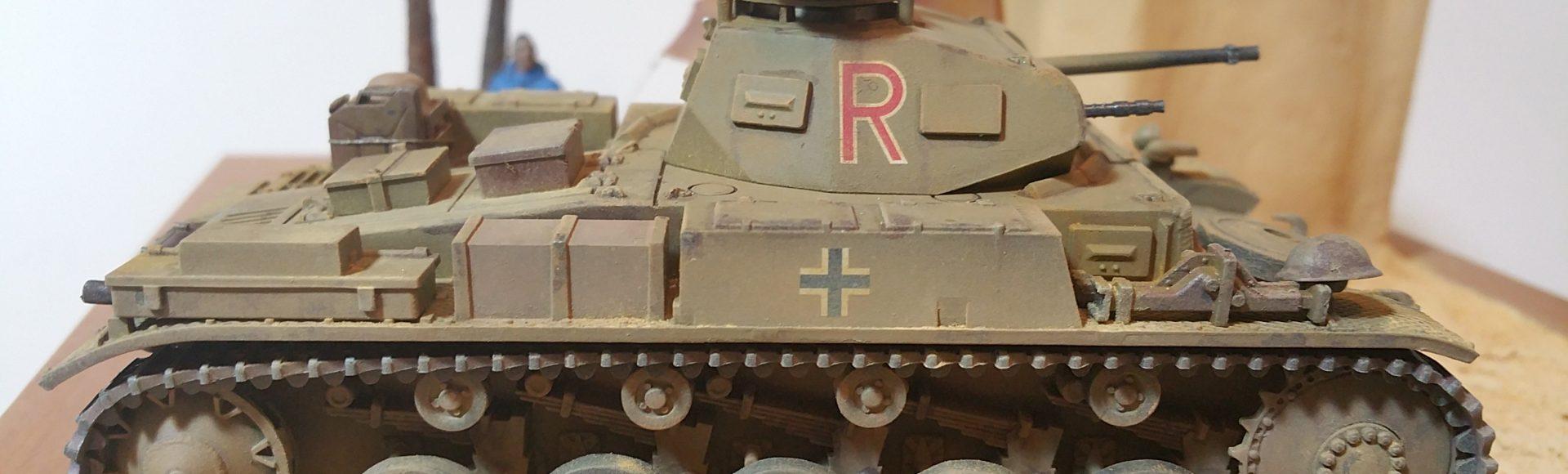 Der richtige Weg – Un Panzer II nel deserto…