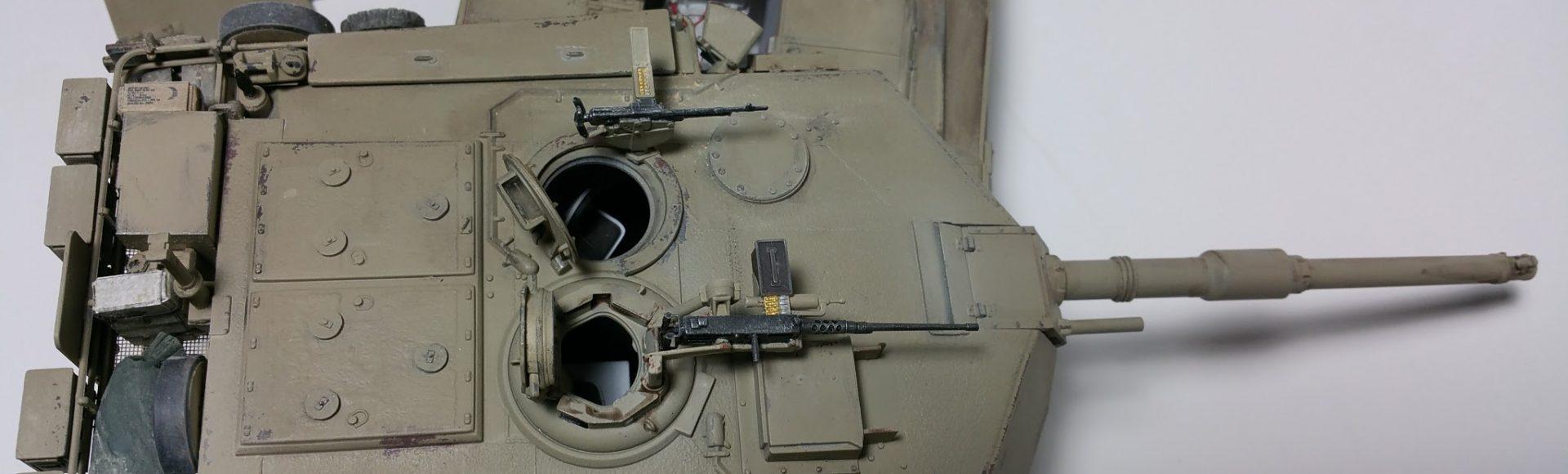 M1A1 Abrams Italeri 1:35. Le guerre in Iraq.